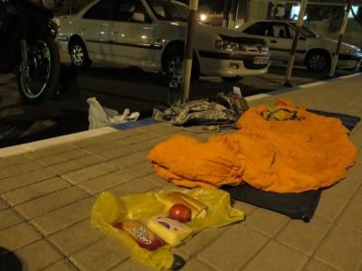 Pierwsza noc w Iranie